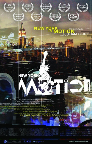 New York in Motion movie poster