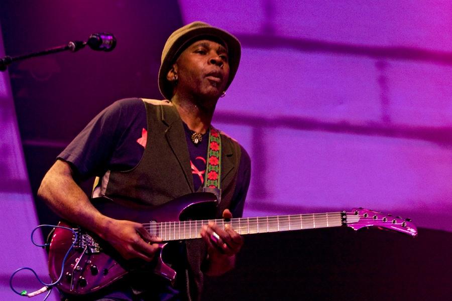 Living Colour guitarist Vernon Reid