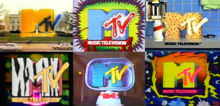 The MTV graphical idents of the 80s and 90s did not make a lot of sense but for an impressionable teenage mind they were like the music itself: loud and offensive to parents.