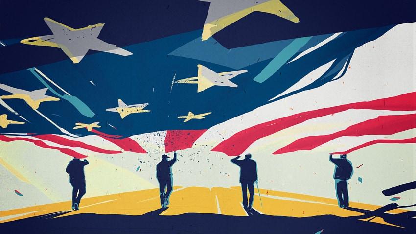 """Still from """"Veterans Day"""""""