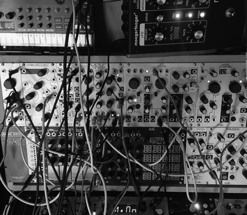 """I took the sounds out of the computer by using hardware step sequencers and also ran the outputs into my modular synths and outboard effects."""