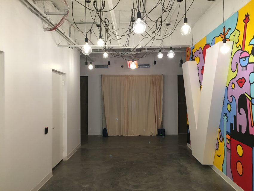 The installation space