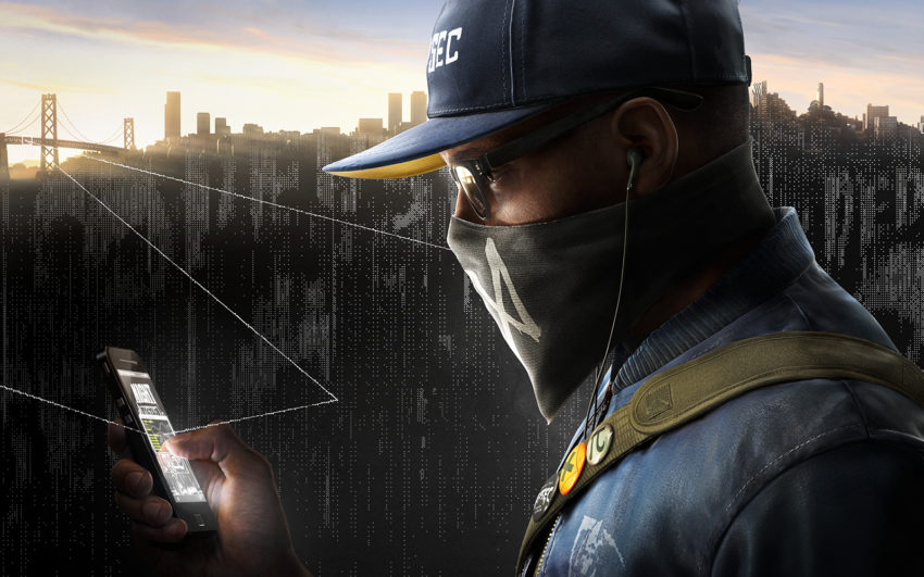 """""""Watch Dogs 2.0"""" promotional image featuring the new protagonist, Marcus Holloway"""