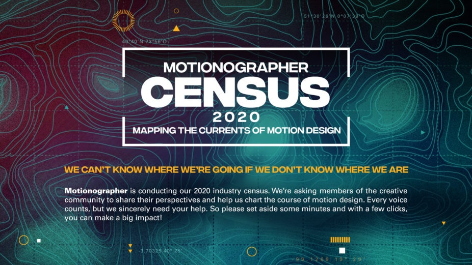 Motionographer 2020 Census